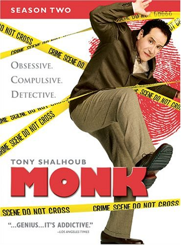 Monk - Season Two DVD