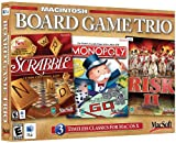 Board Game Trio: Scrabble, Monopoly, Risk 2 (Mac)