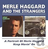 Cover of Portrait of Merle Haggard//Keep Movin on