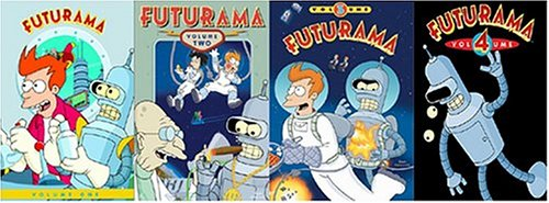 Futurama Volumes 1-4
