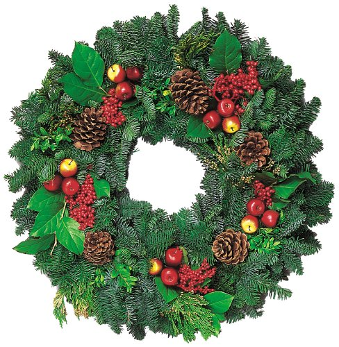 26-Inch Royal Fruit Wreath
