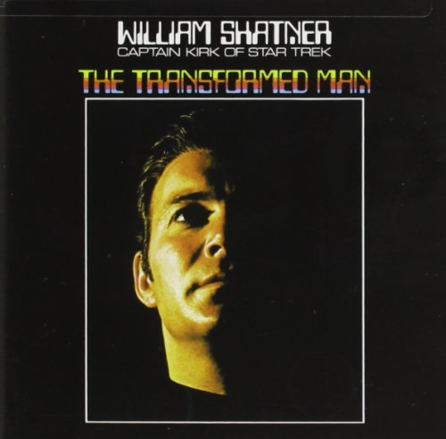 CD-Cover: William Shatner - Transformed Man