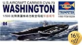 Trumpeter 1/500 USS Washington CVN73 Aircraft Carrier - 5204