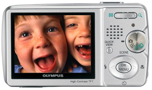 Olympus Stylus 500 5MP Digital Camera with 3x Optical Zoom
