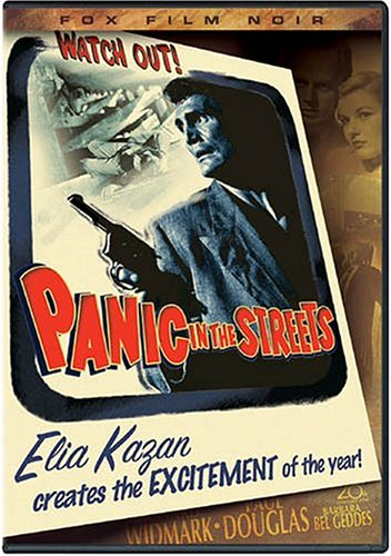 Cover of Panic in the Streets DVD
