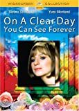 On a Clear Day You Can See Forever - movie DVD cover picture