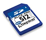 Kingston Elite Pro 512 MB 65x Secure Digital (SD) Card (SD/512-S) Pictures