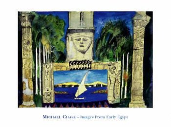 Early Egypt, Art Poster by Michael Chase