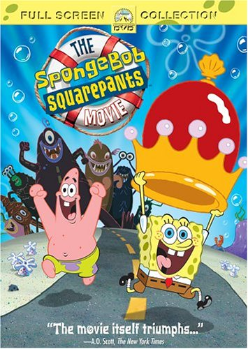 The Spongebob Squarepants Movie  DVD