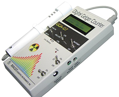 Digital Geiger Counter with Wand & PC (serial) Output by Images SI Inc.