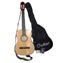 Wood Grain Acoustic Guitar