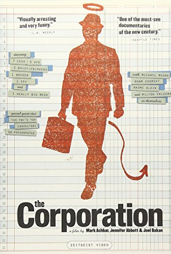 the corporation documentary Summary and discussion the corporation is a blatant left wing documentary that characterizes corporations as a prototypical psychopath the documentary uses many.