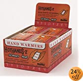 HeatMax HotHands-2 Hand Warmers - Case of 240 Pair by HotHands-2