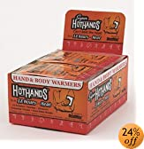 HeatMax HotHands Hand and Body Warmers. Case of 240 by HotHands