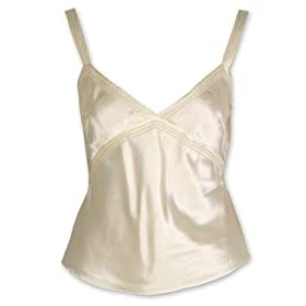 Maxstudio Silk Cotton Satin Camisole