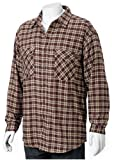 RIGGS Workwear by Wrangler Men's Thermal Lined Flannel Work Shirt