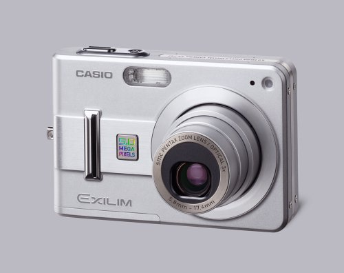 Casio Exilim EXZ57 5MP Digital Camera with 3x Optical Zoom