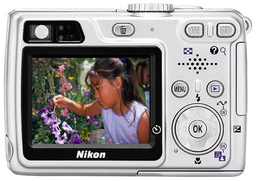 Nikon Coolpix 5900 5MP Digital Camera with 3x Optical Zoom