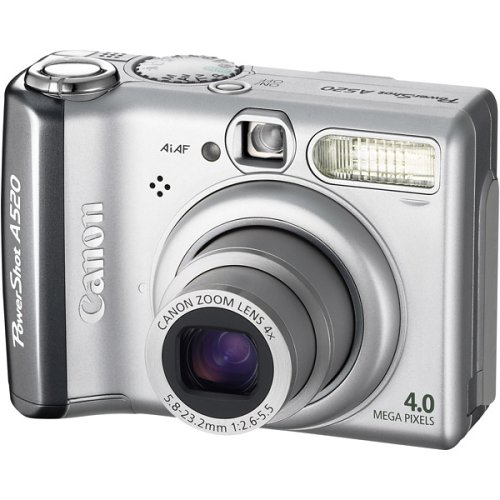 Canon PowerShot A520 4.0 Megapixel Digital Camera