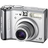 Canon Powershot A520 4MP Digital Camera with 4x Optical Zoom