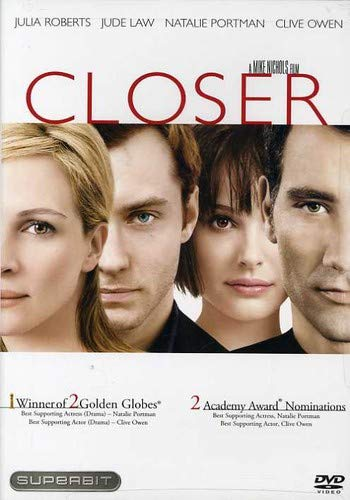 Closer  DVD