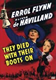 They Died with Their Boots On - movie DVD cover picture