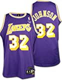 Click here to buy Magic Johnson Los Angeles Lakers Throwback Swingman Jersey by Reebok.