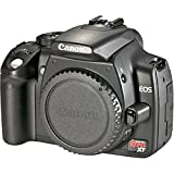 Canon Digital Rebel XT 8MP Digital SLR Camera (Body Only - Black)