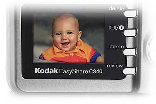 Kodak EasyShare C340 5MP Digital Camera with 3x Optical Zoom