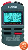 Robic SC-808 200 Dual Memory Stopwatch with Speed Timer, Countdown and EL... by Robic