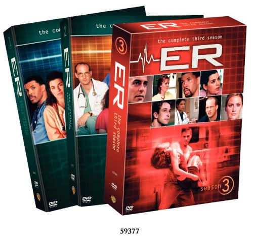 ER - The Complete First Three Seasons DVD