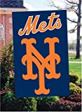 NEW YORK METS APPLIQUE BANNER FLAG