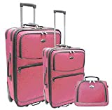 Travellers Club 3 Pc Luggage Set