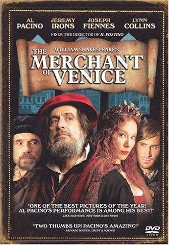 William Shakespeare's The Merchant of Venice DVD
