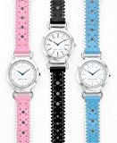 Tommy Hilfiger Women's Patent Leather Strap Watch Pink