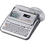 Casio CW-L300 Label-Biz Disc Title Printer with Qwerty Keyboard - Silver