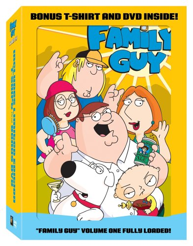 Family Guy, Vol. 1 [With Bonus T-Shirt and DVD] DVD