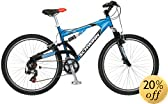 Schwinn S-15 26-Inch Aluminum Dual-Suspension Mountain Bike by Schwinn