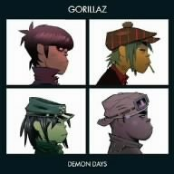 Original album cover of Demon Days by Gorillaz