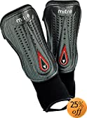 Mitre Cubic Pro Shin Guards (Small Medium) by Mitre