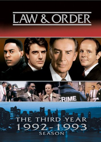 Law and Order - The Third Year  DVD