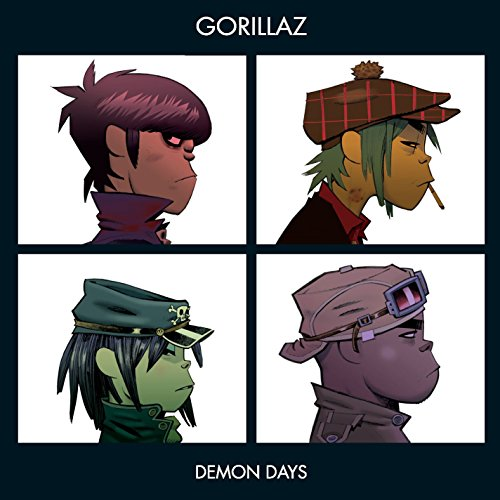 Original album cover of Demon Days by The Gorillaz
