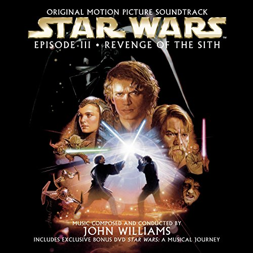 Original album cover of Star Wars Episode III: Revenge of the Sith - Original Motion Picture Soundtrack by John Williams, John Williams, London Symphony Orchestra