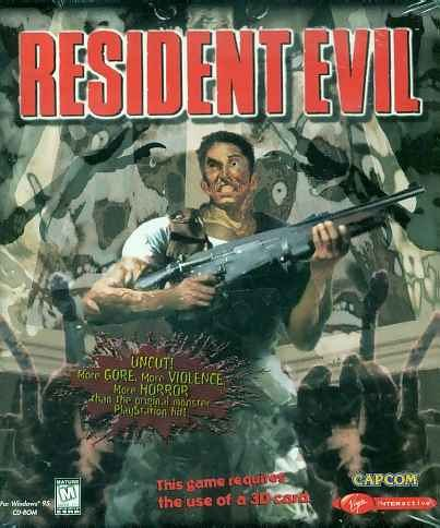 baixar capa Pc Games   Resident Evil 1   Clássico