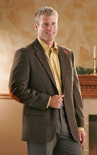 Elbow Patch Sportcoat Brown