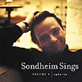 Capa do álbum Sondheim Sings, Vol. 1: 1962-1972