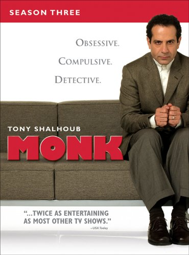 Monk - Season Three DVD