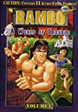 Rambo Vol 1 - World of Trouble - movie DVD cover picture