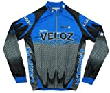 Carbon Veloz Bicycle Long Sleeve Jersey by Veloz