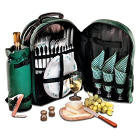 PicPack Picnic Backpack (4 Person Set)